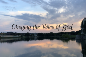 Obeying the Voice of God